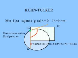 KUHN-TUCKER