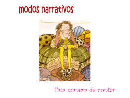 modos narrativos I medio