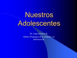 """PPT: """"Nuestros Adolescentes"""""""
