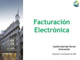 Ponencia Factura Electrónica