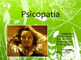 Psicopatia - Fresas Salvaje :D