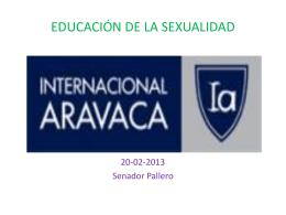 EDUCACIÓN DE LA SEXUALIDAD - Colegio Internacional Aravaca