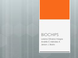 Chips de ADN para Genotipado