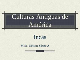 Culturas Antiguas de América