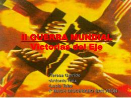 Victorias del Eje(1939