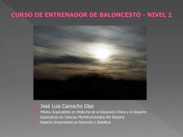 SALUD EN EL BALONCESTO. CURSO DE ENTRENADOR DE