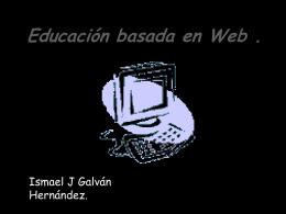 Origen de la educación basada en Web
