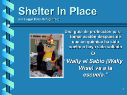 Shelter In Place (Un Lugar Para Refugiarse)