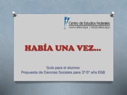 HABÍA UNA VEZ… - WordPress.com