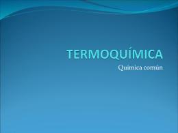 ÞTermoquimica - Fundación Educacional Mater Dei