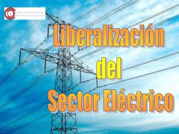 Liberalización electricidad
