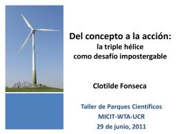 Del concepto a la acción: la triple hélice como desafío impostergable