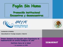 Promoción institucional, encuentros y desencuentros