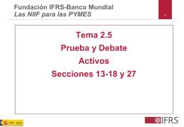 Tema 2.5 Prueba y Debate Activos