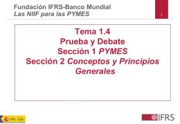 Tema 1.4 Prueba y Debate Sección 1 PYMES