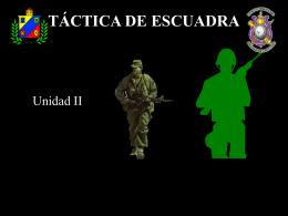 Unidad 2 de Táctica de Escuadra