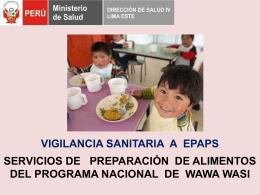 Instalaciones - (DISA) IV Lima Este
