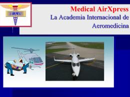 Aeromed 2003 Capacitación en Aeromedicina