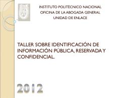 guía practica para la facil identificación de la información pública