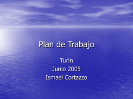 Plan de Trabajo - training.itcilo.it