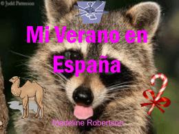 Mi Verano en España