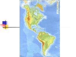 América - El Continente Americano