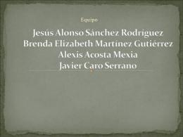 Jesús Alonso Sánchez Rodríguez Brenda