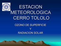 estacion meteorologica cerro tololo
