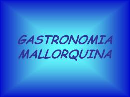 Gastronomia mallorquina salada