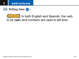 Practice telling time by completing these sentences. (cont`d)