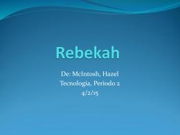 Rebekah - mcintoshportfolio