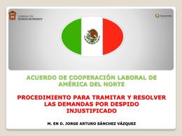 DERECHO LABORAL COMPARADO: MÉXICO