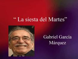 Gabriel G_ M_ La siesta del Martes