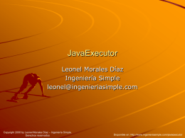 JavaExecutor - Ingeniería Simple
