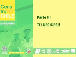 Tú Decides - Construyo Chile