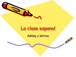 La clase espanol