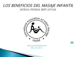 Los Beneficios del Masaje Infantil Myrna Pineda Beit