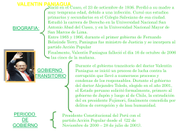 valentin paniagua biografia