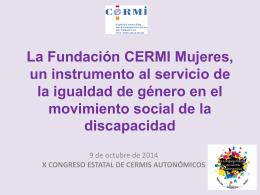 La Fundación CERMI Mujeres, un instrumento al servicio de la