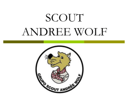 SCOUT ANDREE WOLF - Grupo Scout Andrèe Wolf