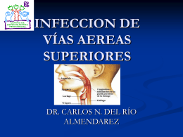 infeccion de vías aereas superiores