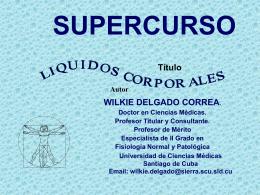 Líquidos Corporales.