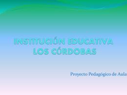 INSTITUCIÓN EDUCATIVA PROYECTO DE RECICLAJE