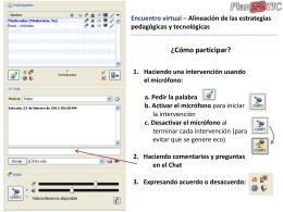Descargue la presentación proyectada durante el encuentro