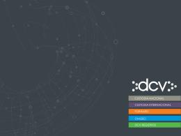 Presentación DCV Registros septiembre 2014