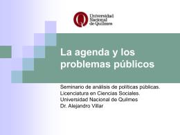 La_Agenda_y_Problemas_f - Universidad Nacional de Quilmes