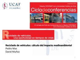 Reciclado de vehículos: cálculo del impacto medioambiental