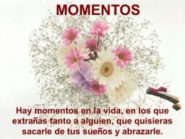 Momentos - Crecimiento Personal