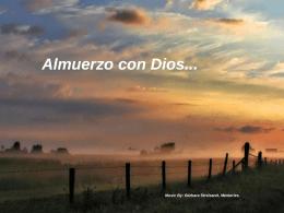 ALMUERZO CON DIOS - Salesianos Las Palmas