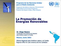 energia_bp - Programa de las Naciones Unidas para el Medio